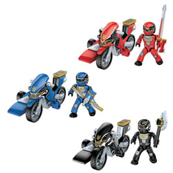Power Rangers Méga Force Pack Héros Assortiment