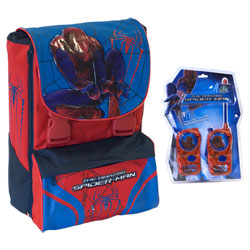 Cartable Spiderman et Talkie Walkie