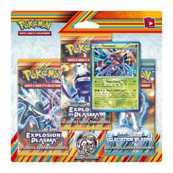 Pokémon Pack 3 boosters Noir et Blanc 10