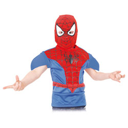 Tabard Spiderman en mousse rigide