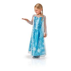 Déguisement Elsa Frozen La Reine des neiges 7/8 ans