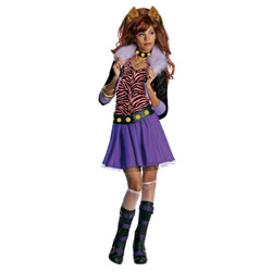 Déguisement Monster High Clawdeen Wolf  8-10 ans