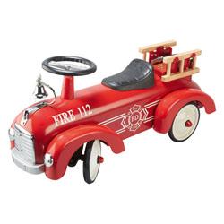 Porteur voiture pompier