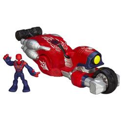 Figurine Spiderman avec Véhicule