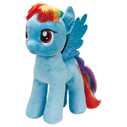 Petit Poney Rainbow Dash 30 cm