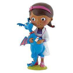 Figurine Docteur la Peluche avec Toufy