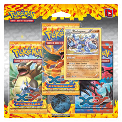 Pokemon pack 3 Boosters XY2