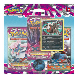 Pokemon Pack 3 Boosters XY04 Vigueur Spectrale