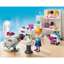 5487-Le Salon de Beauté Playmobil