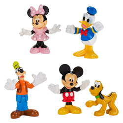 Coffret de 5 figurines Univers Mickey