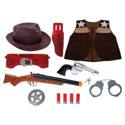 Coffret Accessoires Cowboy