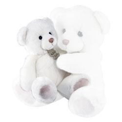 Ours Blanc Douceur Petit Modèle 20 cm