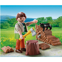 5412-Bûcheron Playmobil