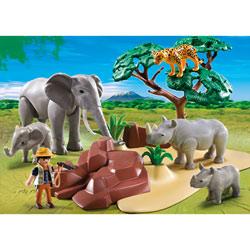 5417-Animaux de la Savane avec photographe Playmobil