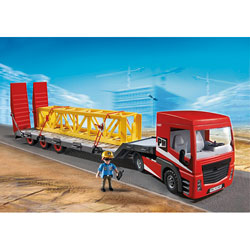 5467-Tracteur routier avec grande remorque