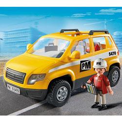 5470-Chef de chantier et véhicule d'intervention