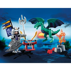 5609-Valisette Chevaliers Dragon Asie Playmobil