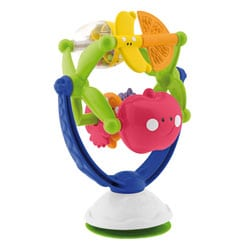 Hochet ventouse musical fruits