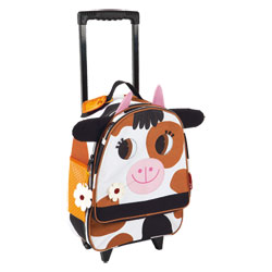 Valise Trolley Vache