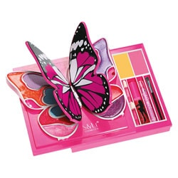 S&Li-Coffret maquillage papillon