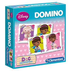 Domino Game Docteur la Peluche