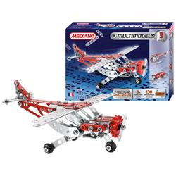 Avion 3 modèles MULTIMODELS