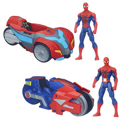 Spiderman Véhicule Spider Strike Assortiment