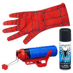 Spiderman Lance fluide et eau + gant