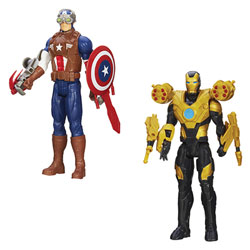 Avengers figurine 30 cm evolution