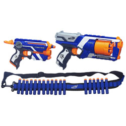 Nerf Elite Strongarm et Firestrike