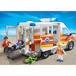 5541-Ambulance avec Secouristes
