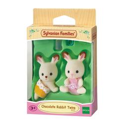 Sylvanians Families-3217-Jumeaux lapins chocolat