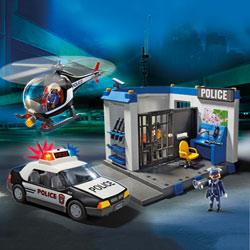5607-Poste Police et Hélicoptère