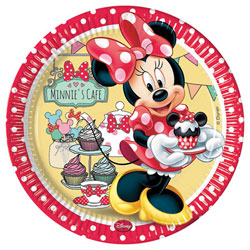8 Assiettes Minnie