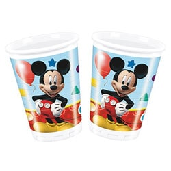 8 Gobelets 20cl Mickey Disney