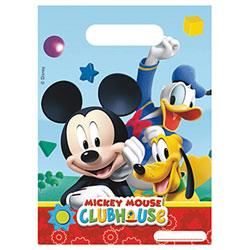 6 Sachets cadeaux Mickey