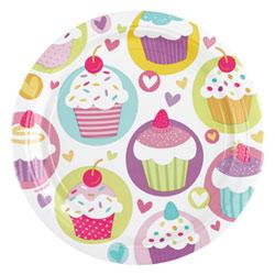 Assiettes Cupcake