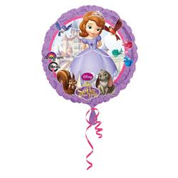 Ballon Rond Princesse Sofia 45 cm