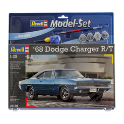 Maquette voiture Dodge Charger R/T 1968