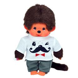 Monchhichi Garçon Moustaches