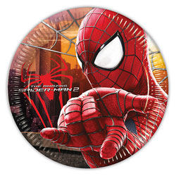 8 Assiettes The Amazing Spiderman 2
