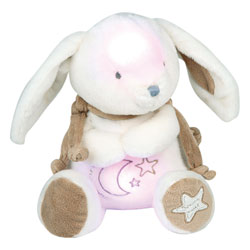 Veilleuse Musicale lapin Bonbon Taupe