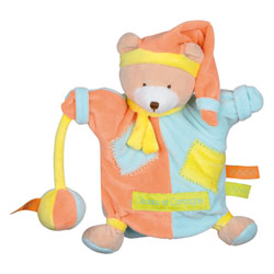 Marionnette Ours Zig Zag 22 cm