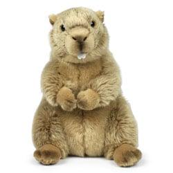 Peluche WWF marmotte 23 cm