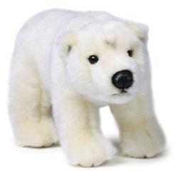WWF Ours Polaire sur ses pattes 23 cm