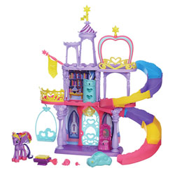 My Little Pony Rainbow Château de Twilight