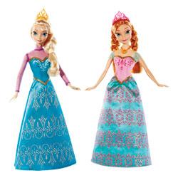 Frozen-Coffret Duo Anna et Elsa