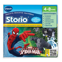 Jeu Storio 2-Spiderman