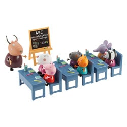 Peppa Pig Salle de Classe 7 Personnages