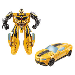 Transformers 4 Mega One Step Bumblebee 28 cm